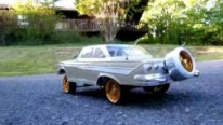 Admirable 1961 R/C Impala Low-Rider with Fully-Functional Hydraulics