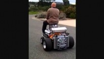 Badass Grandpa Takes Cruise on 690Hp Hoss Fly V8 Powered Barstool
