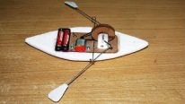 Nice Creativity! How To Make A Toy Rowing Boat