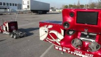 The Coolest RC Truck Ever! Peterbilt 359 RC 1:4 With A Super Sound Trailer