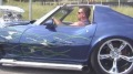 Fantastic 1500hp Corvette Rolling Down the Street
