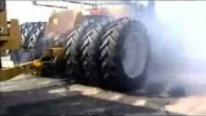 Smoking Hot Challenger MT965B Makes Crazy Burnouts