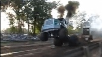 Wheelie Show by Bad Boy Detroit Diesel Turbocharged 12v71TT