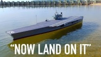 Landing R/C Aircrafts on Scratch-Built R/C Aircraft Carrier