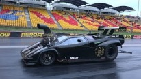 Real Disaster: Lamborghini Supercharged V8 Drag Car Goes for License Testing