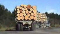 See Gigantic Off-Road Mack Logger Working in New Zealand