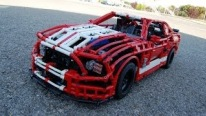 Amazing LEGO Car: Ford Mustang Shelby GT500