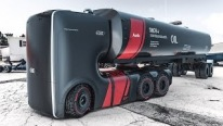 "Ultra-Futuristic Self-Driving Truck ""Concept"" for Audi"