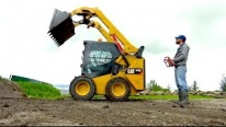 Get Some R/C Fun: Controlling Huge Caterpillar 242D Skid Steer Loader Remotely
