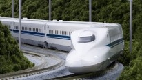 The Japanese Miracle Shinkansen Train Goes Fast Like a Bullet