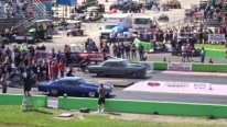 Extremely Exciteful Race from Street Outlaws: Badass Daddy Dave Goliath 2.0 Vs. DOC