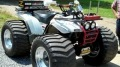 Stunningly Cool 1995 Model Yamaha Wolverine Pulling ATV