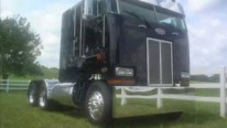 Spectacularly Made Peterbilt 362 COE Cabover Cruising on the Roads