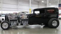 Astonishingly Cool 1932 Twice Blown Ford Delivery Sedan