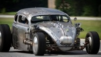 Awesome Volkswagen Hot Rod Bug Powered by Airplane Engine