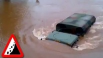 Badass Russian Off-Roads Drives Under Water