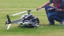 Airwolf: Stunningly Impressive Turbine Powered R/C Helicopter