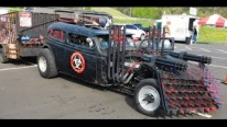 This Zombie Hunter Hot Rod Is Halloween On Wheels!