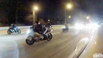 Badass 1200hp Porsche Annihilates a Group of Bikers