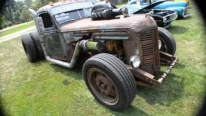 Caterpillar Diesel Powered Twin Turbo Rat Rod Truck