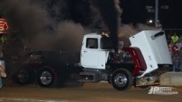 Big Mack Semi Trucks Blows at Croton Rotary Car Show