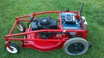 Super Genius Product of Laziness - R/C Model Lawn Mower