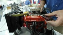 Running Miniature Chevrolet Small Block V8 Engine Looks and Sounds Great