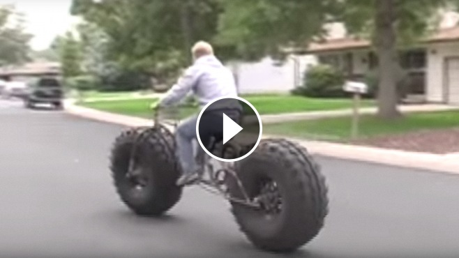 Fat Tire Bike to Catch All Eyes On!