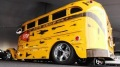 Fantastic Hot Rod School Bus Caught on Camera at 2016 Auctions America Auburn Fall Collector Car Weekend