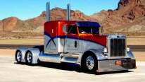 Perfectly Customized Peterbilt 359 - One of a Kind !!!