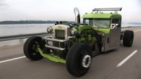 Jaw-Droppingly Cool Custom Built Peterbilt Hot Rod Semi Monster Truck