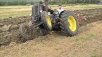 Plowing Festival in Asciano Italy with Old but Totally Gold Tractors