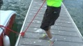 Queen of the Ropes: Skillful Girl Linda is the Best Dock Line Handler Ever