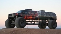 "Insanely Amazing ""Sin City Hustler"": Longest Monster Truck on the Globe"