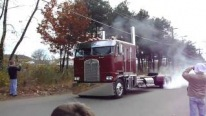 Beast-Like Cabover Makes Insane Burnouts