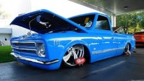 "Eye-Catching ""C-Fin"": 1972 Model Chevrolet C/10 Street Truck"