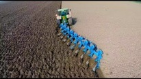 When Ploughing Meets with Advanced Technology: John Deere 8360R and Lemken 9 Furrow