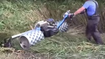 A Very Practical and Extremely Cool Device by Brielmaier to Mow Wet Meadows