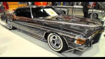 Fascinatingly Painted 1973 Buick Riviera Caught on Camera at SEMA Show