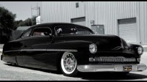 Charismatically Customized 1951 Chopped Leas Sled Mercury