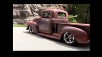 The Pillager: 1949 Chevrolet 3100 Restomod Excellent Rat Rod
