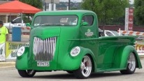 Adorably Cool Late 30's Early 40's Coe Cabover Truck of New Zeland Caught on Camera at CASA Show Texas
