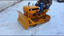 Badass CAT Mini Dozer: King of Miniature Equipments