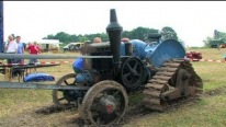Legendary German-Made Lanz Bulldog Tractor Runs and Threshes Perfectly
