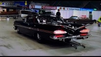 1207Hp 632ci V8 Big Block Powered 1959 Chevy Impala Does Crazy Burnouts