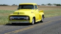 1956 Model Classic Ford F-100 Pickup Truck Is Simply Beautiful