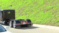 Excellently Treated Custom Built Miniature Semi-Trailer Truck