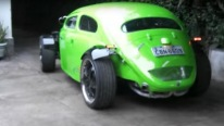 Eye-Catchingly Beautiful Volkswagen Beetle Fusca Hot Rod Is Worth To Check Out