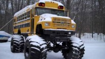 Badass Ford School Bus Will Make Students Go To School Every Day!!!