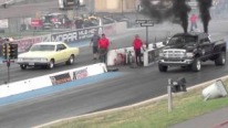 An Unbelievable Challenge: Turbo Diesel Dodge Cummins Vs Chevelle